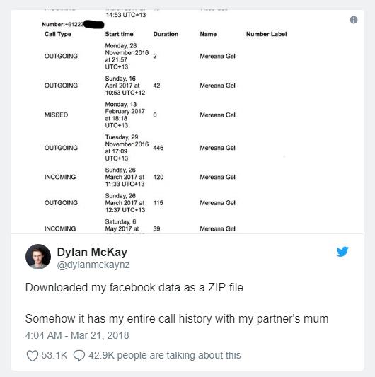 Dylan McKay et son compte Twitter