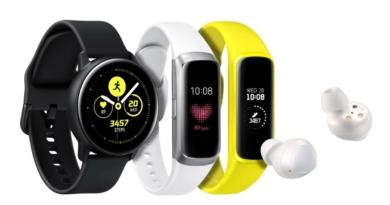 Samsung propose trois nouveaux wearables : Les Galaxy Buds, Watch Active et Fit